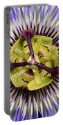 Passion Flower-0008 Portable Battery Charger