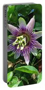 Passion Flower 4 Portable Battery Charger