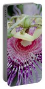 Passion Flower In Bloom Portable Battery Charger