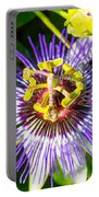 Passion Fruit Flower Portable Battery Charger