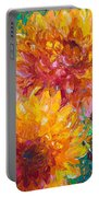 Passion Portable Battery Charger by Talya Johnson