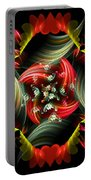 Passionate Love Bouquet Abstract Portable Battery Charger