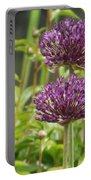 Passionately Purple Portable Battery Charger
