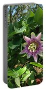 Passion Flower 3 Portable Battery Charger