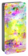 Pastel Abstract Patterns I Portable Battery Charger