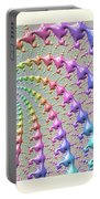 Pastel Drizzle Portable Battery Charger