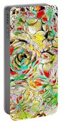 Pastel Flowers 511-11-13 Marucii Portable Battery Charger