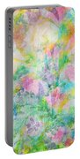Pastel Flowers By Jan Marvin Portable Battery Charger