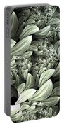 Pastel Garden Abstract Portable Battery Charger