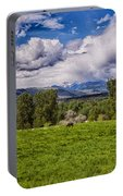 Pastures And Clouds  Portable Battery Charger