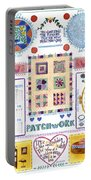 Patchwork Portable Battery Charger