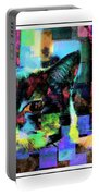 Patchwork Kitty Portable Battery Charger