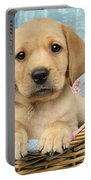 Patchwork Puppy Dp793 Portable Battery Charger by Greg Cuddiford