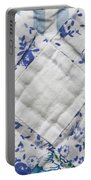 Patchwork Quilt Portable Battery Charger by Tom Gowanlock