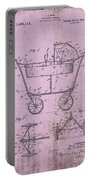 Patent Art Mahr Baby Carriage 1922 Pink Portable Battery Charger