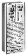Patent Medicine, C1900 Portable Battery Charger