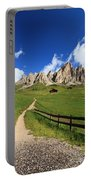 path in Gardena pass Portable Battery Charger