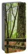 Path Into The Forest Portable Battery Charger by Debra and Dave Vanderlaan