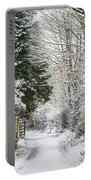 Path Through The Snow Portable Battery Charger