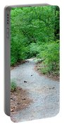 Path Through The Woods Portable Battery Charger