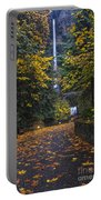 Path To Multnomah Falls Portable Battery Charger