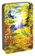 Path To The Fall Portable Battery Charger