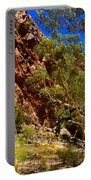 Path To The Gum Trees And Waterhole Portable Battery Charger