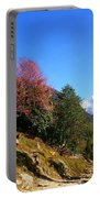 Path To The Mountains Portable Battery Charger by FireFlux Studios