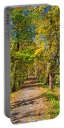 Pathway Along The Ohio And Erie Canal  Portable Battery Charger
