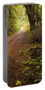 Pathway In The Woods Portable Battery Charger