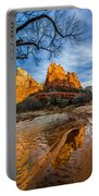 Patriarchs Of Zion Portable Battery Charger by Chad Dutson