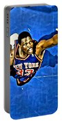 Patrick Ewing Portable Battery Charger by Florian Rodarte