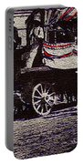 Patriotic Wagon Stone And Congress Tucson Arizona C.1900 Restored Color Texture Added 2008 Portable Battery Charger