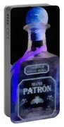 Patron Tequila Black Light Portable Battery Charger
