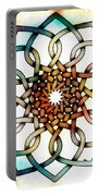 Pattern 18 Colourised Portable Battery Charger