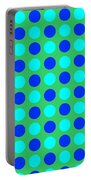 Pattern Of Circles Portable Battery Charger
