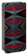 Patterned Abstract 2 Portable Battery Charger