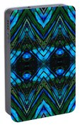 Patterned Art Prints - Cool Change - By Sharon Cummings Portable Battery Charger