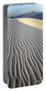 Patterns In The Sand Brazil Portable Battery Charger