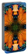 Patterns Of Autumn Portable Battery Charger