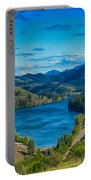 Patterson Lake In The Summer Portable Battery Charger