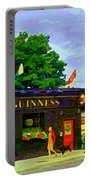 Patty's Pub Guinness On The Glebe Restaurant Bar Bank And Ossington Paintings Of Ottawa Art Cspandau Portable Battery Charger