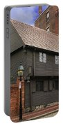 Paul Revere House Portable Battery Charger by David Davis