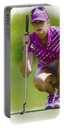 Paula Creamer Lines Up Her Putt Portable Battery Charger