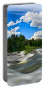 Payette River Portable Battery Charger by Robert Bales