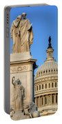 Peace Monument And Capitol Portable Battery Charger