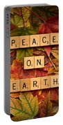 Peace On Earth-autumn Portable Battery Charger