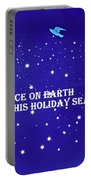 Peace On Earth Card Portable Battery Charger
