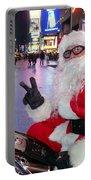 Peace Santa Portable Battery Charger