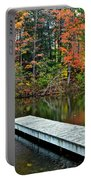 Peaceful Autumn Day Portable Battery Charger